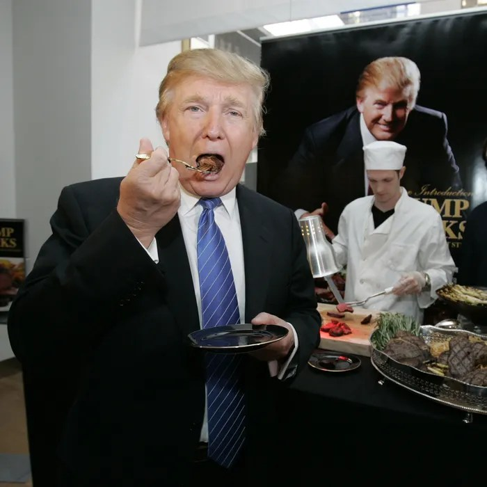 Image result for images of trump steaks