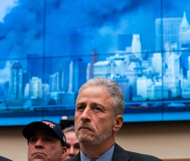 Jon Stewart Yelled At Members Of Congress For Ignoring 9 11 First Responders
