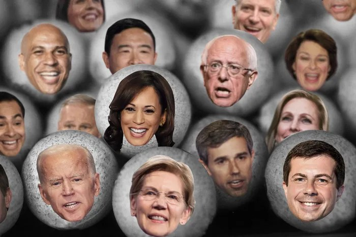 Image result for democratic primary cnn draft