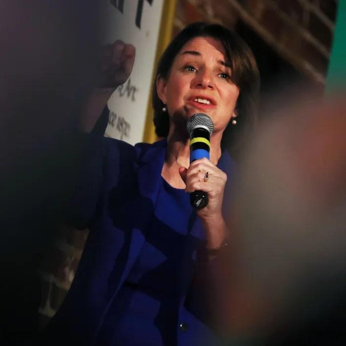 Senator Amy Klobuchar.