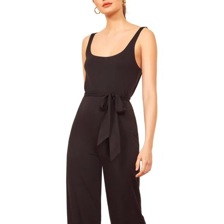 Reformation June Sleeveless Jumpsuit