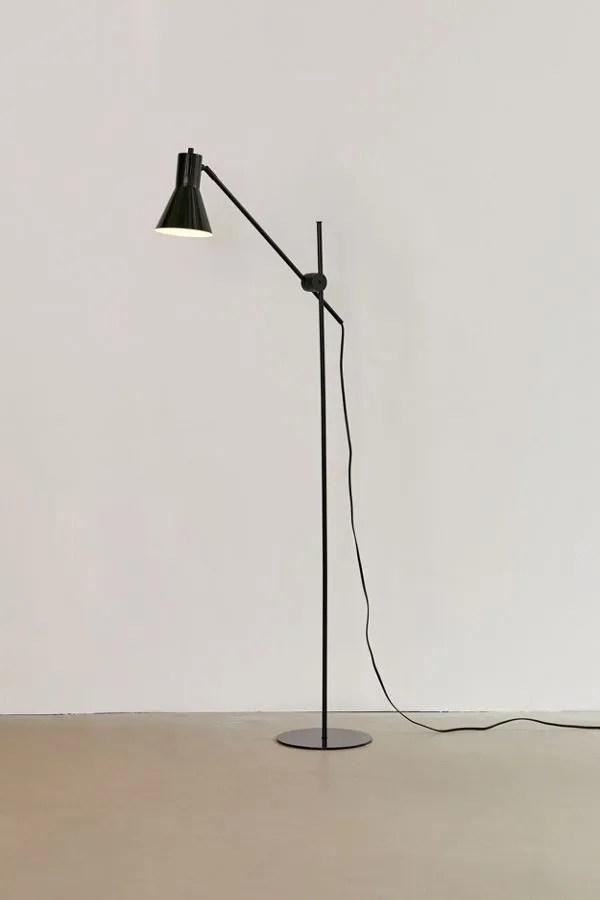 Bauer Industrial Floor Lamp