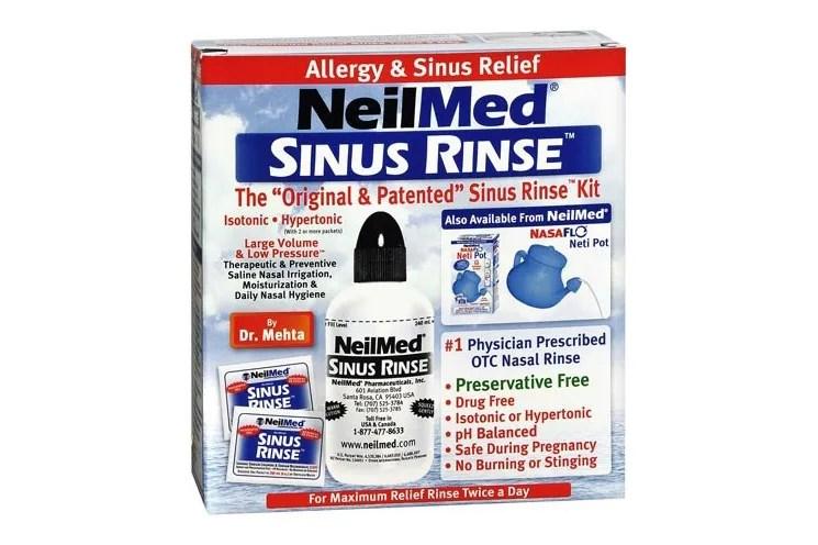 The Best Sinus Rinse Is NeilMed 2017