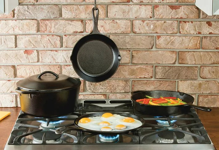 Pots And Old Cast Iron Skillets