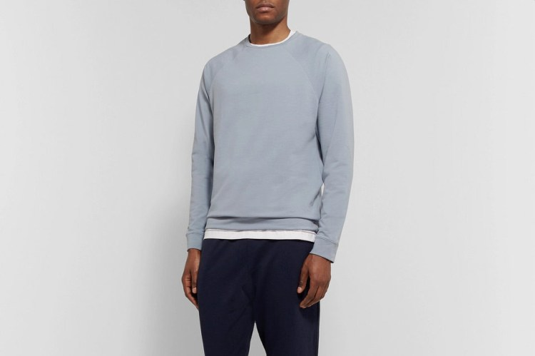 Håndværk Stretch-Pima Cotton Sweatshirt