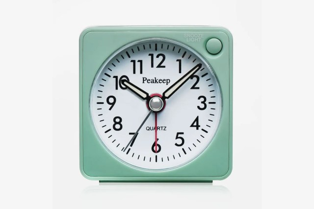 Peakeep Ultra Small, Battery Travel Alarm Clock
