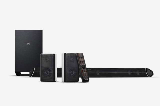 """Nakamichi Shockwafe Pro 7.1Ch DTS:X 600W 45-Inch Sound Bar With 8"""" Wireless Subwoofer & 2-Way Rear Satellite Speakers"""