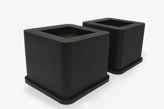 iPrimio Bed and Furniture Square Risers 4-Pack (3.5in)