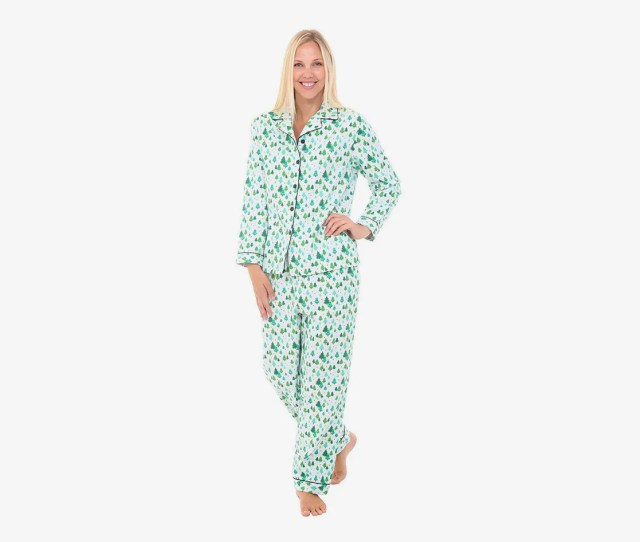 Alexander Del Rossa Womens Flannel Pajamas