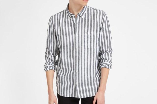 Everlane Linen Standard Fit Shirt