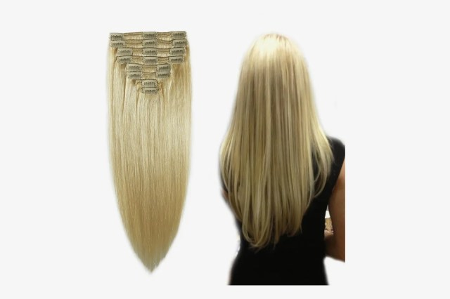 """MY-LADY 100% Remy Human Hair Clip in Extensions 12"""", 110g, 8pcs"""