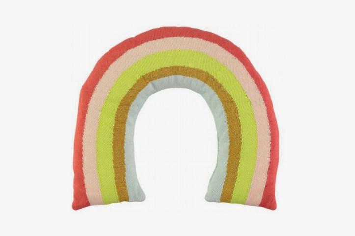 Meri Meri Organic Cotton Rainbow Cushion