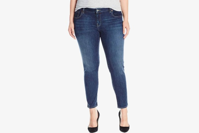 Lucky Brand Women's Plus Size Mid Rise Ginger Skinny Jean