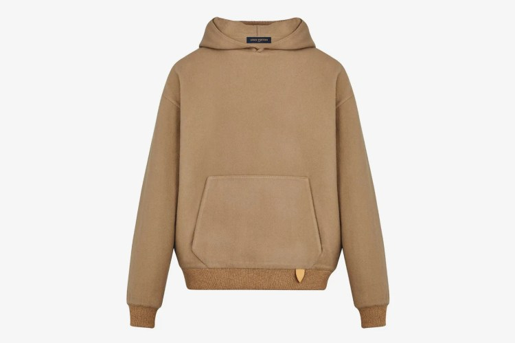 Louis Vuitton Leather Tab Hoody