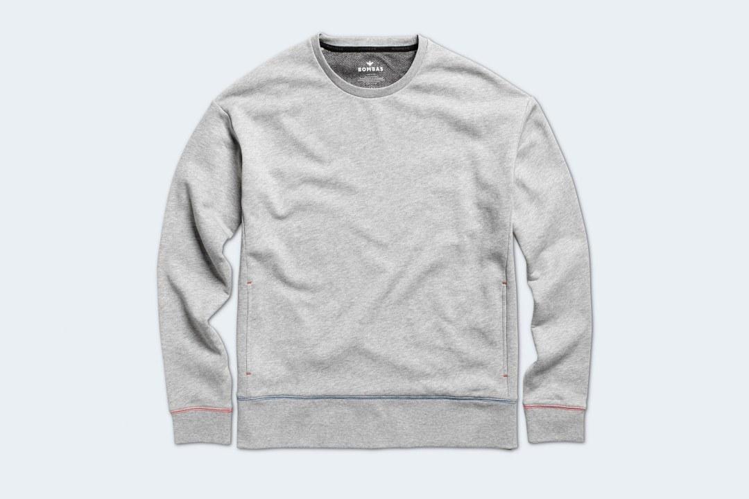 Bombas Women's Cotton Crew Neck Sweatshirt
