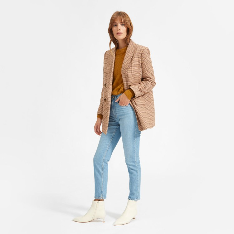 Everlane Oversized Double-Breasted Blazer