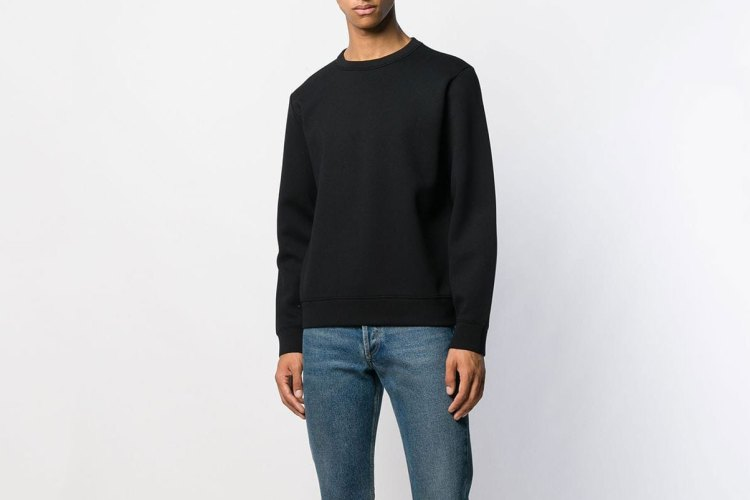 A.P.C. Relaxed Fit Crewneck Sweatshirt