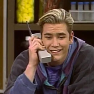 Image result for zack morris cell phone