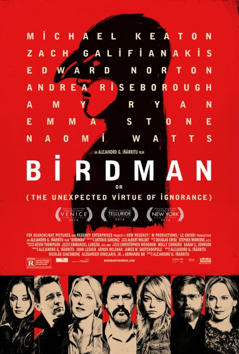 Birdman or The Unexpected Virtue of Ignorance poster