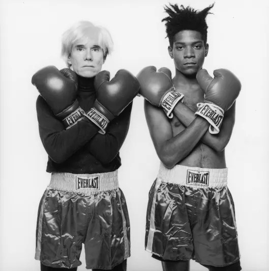 Image result for jean basquiat and andy warhol