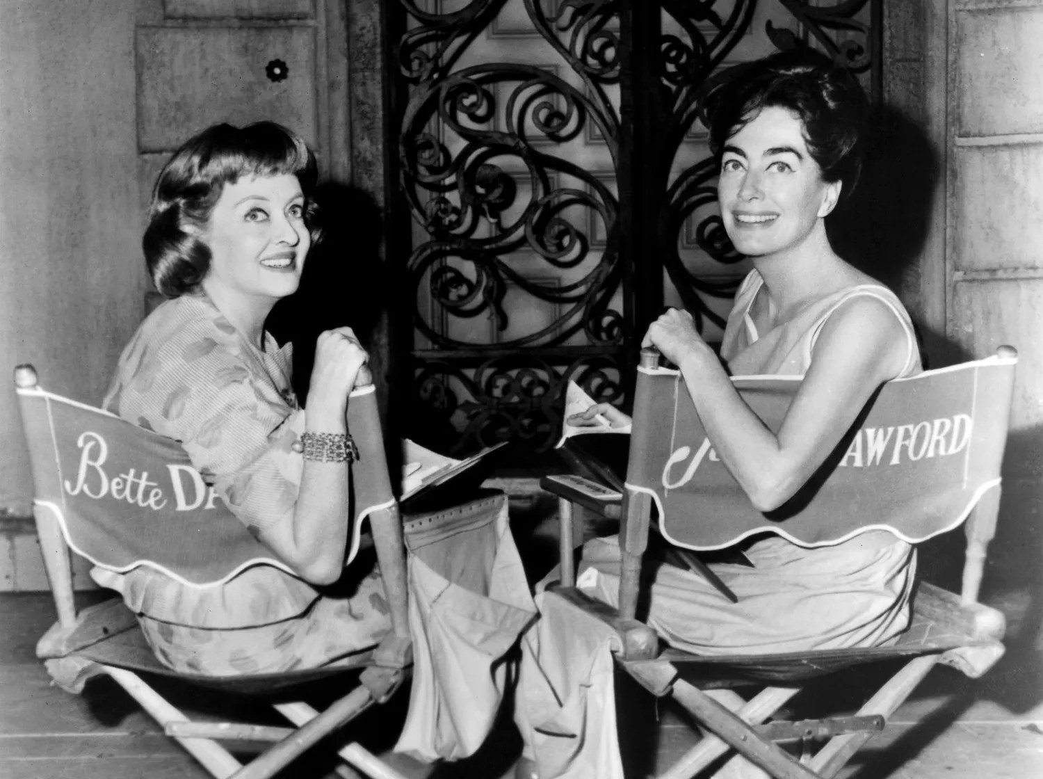 Image result for bette and joan a feud