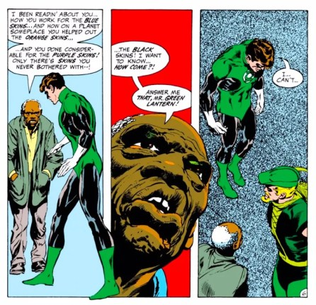 Image result for green lantern racism