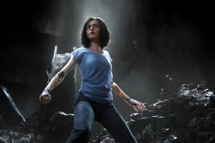 Image result for Alita: Battle Angel