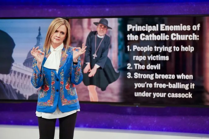TV Comedies Everyone Should Watch Full Frontal With Samantha Bee  Photo  Jessica Miglio TBS