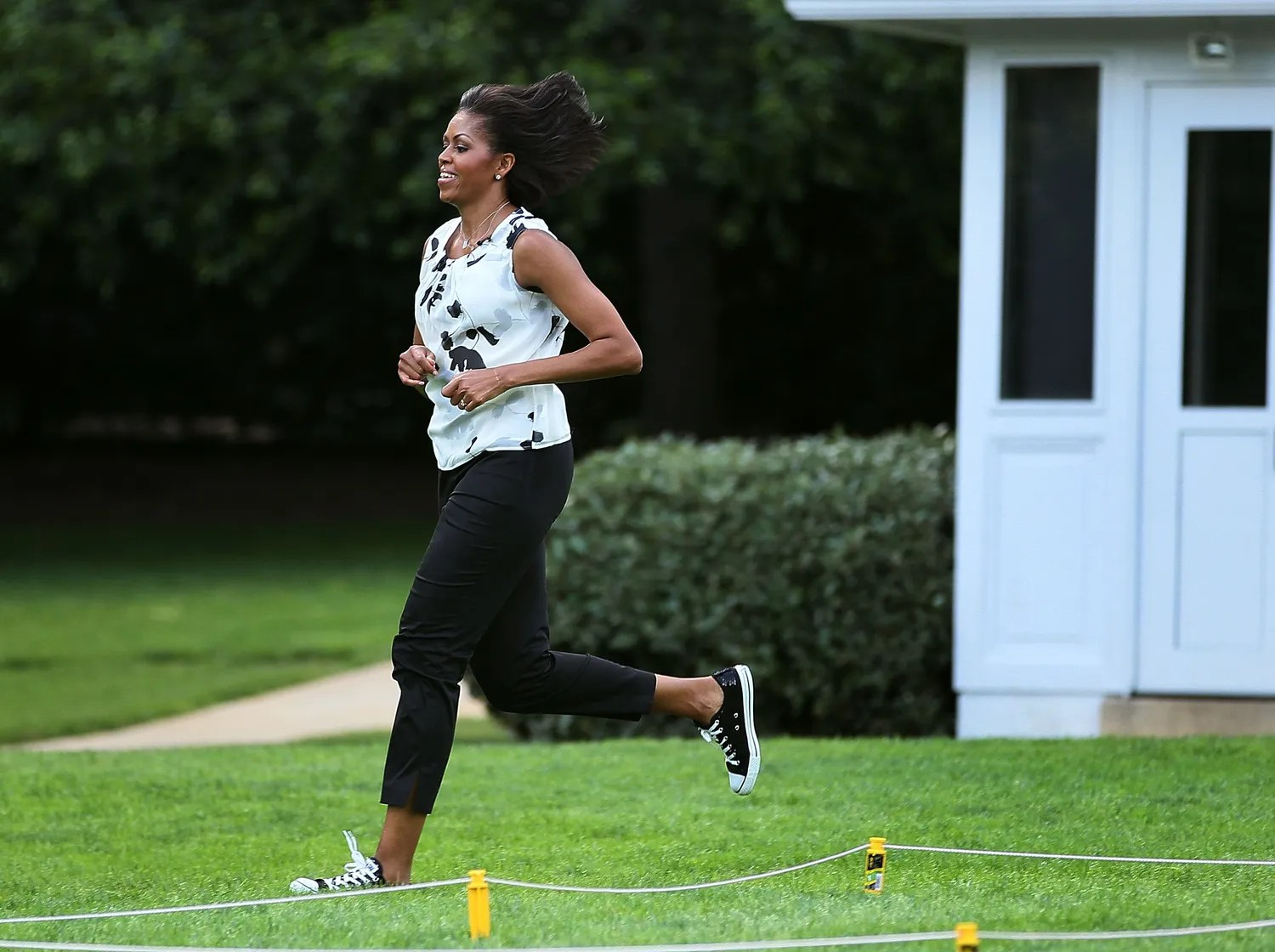 Image result for Michelle Obama exercise