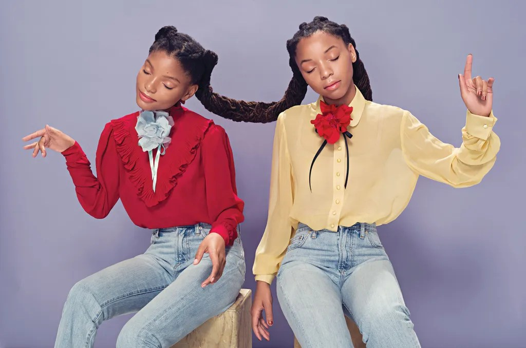 Image result for chloe and halle