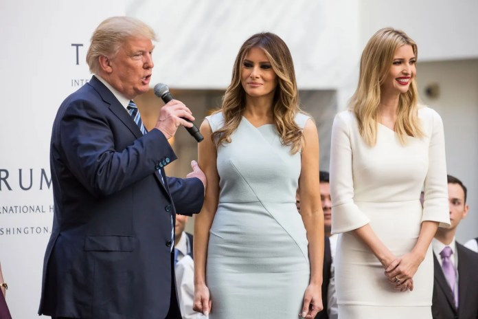 Image result for melania and ivankaWomen Are Flocking to Plastic Surgeons To Look Like Ivanka and Melania -- Despite The Narrative Against Them trump sexy