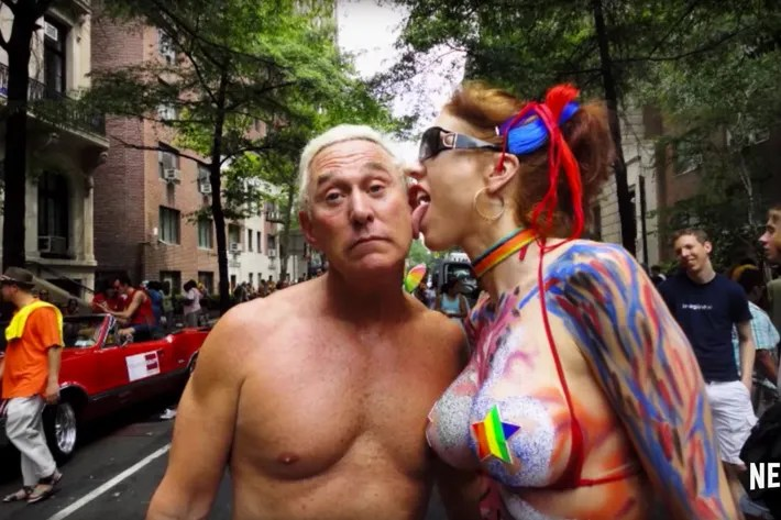 The Many Looks Of Roger Stone