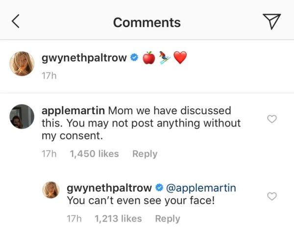 Apple Is 100% Not Here For Gwyneth Paltrow Posting Her Photo On Instagram