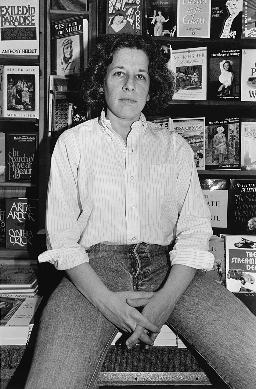 Photo 1 from Fran Lebowitz, New York City, 1983.