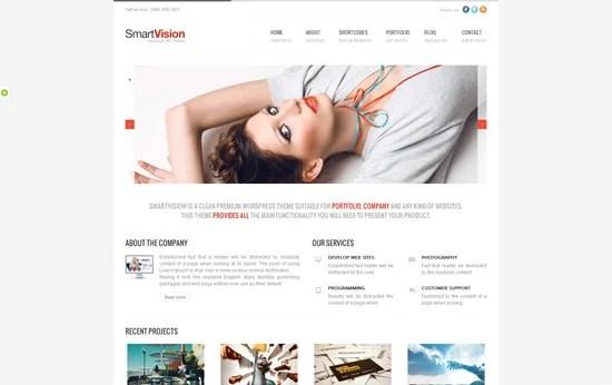 SmartVision - Premium Corporate&Portfolio WP Theme