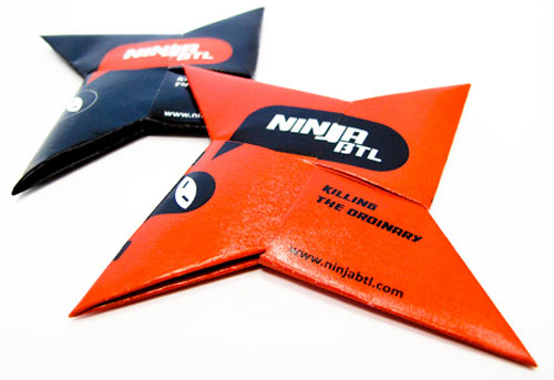 Ninja BTL Business Card