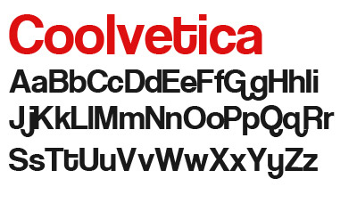 Download Coolvetica font
