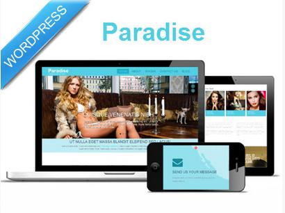 paradise-wp-template