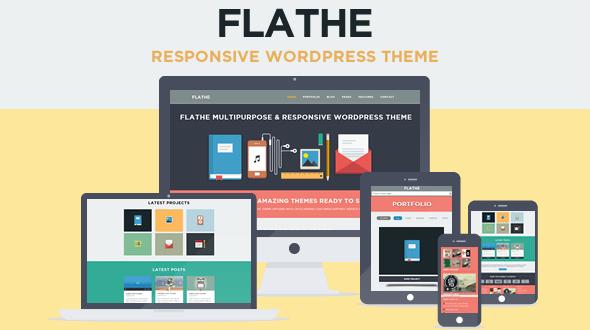 FLATHE-Responsive-Flat-WordPress-Theme