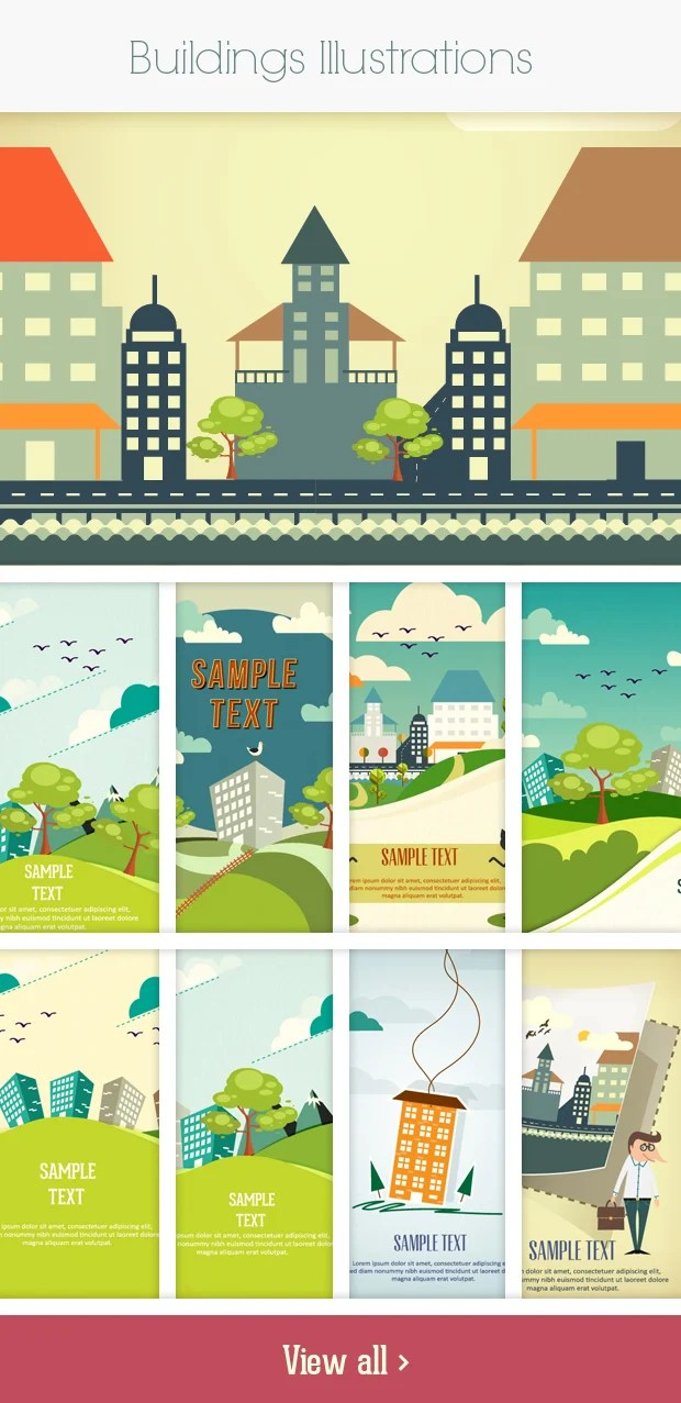 buildings small Deal of the Week: 600+ Top Quality Vector Illustrations – Only $49