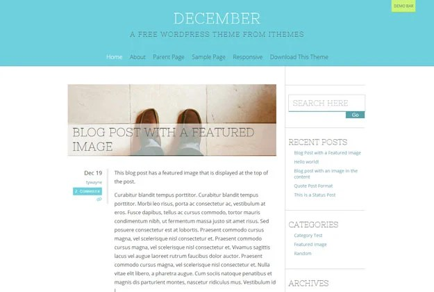 December---A-Free-WordPress-Theme-from-iThemes