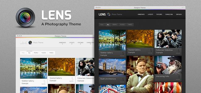 Lens WordPress Themes