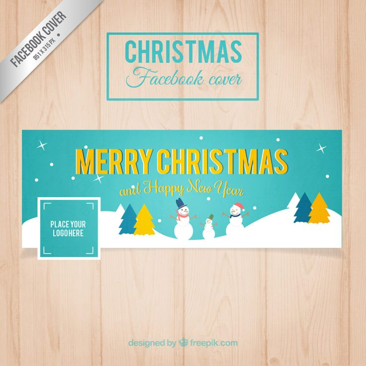 Facebook Turquoise Christmas Cover