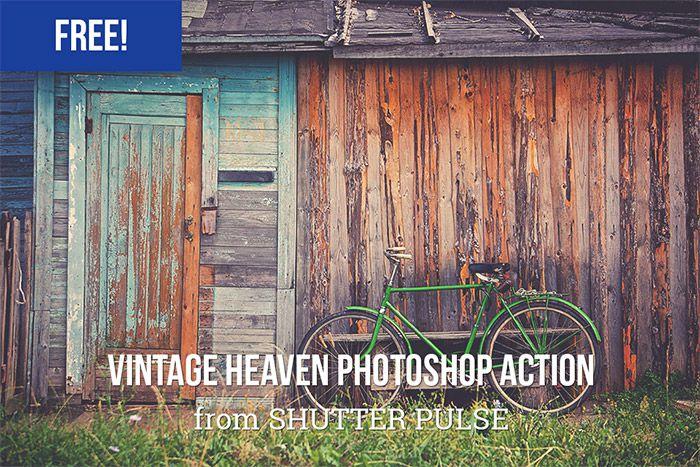 Vintage Heaven Photoshop Action