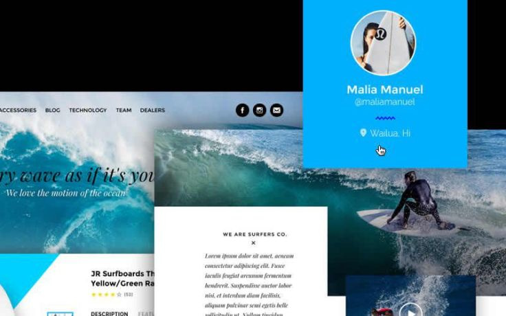 Surfers Co. – Free Surf Shop PSD Template