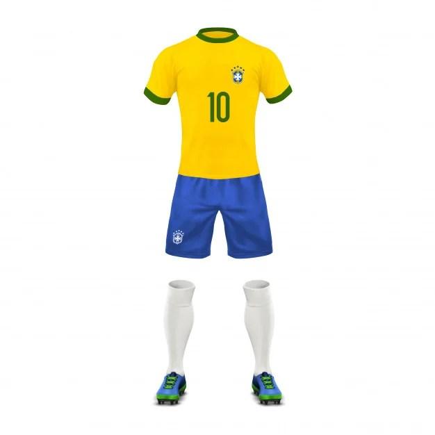 SoccerUniform Brazil Team