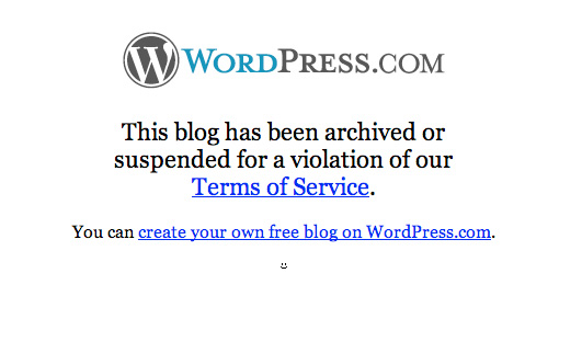 How to start a WordPress blog - WordPress.com Blog Get Suspended