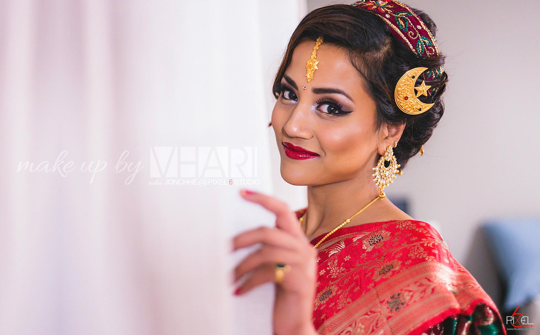 Bridal Session With Makeup By Vhari Pixel 6 Studio