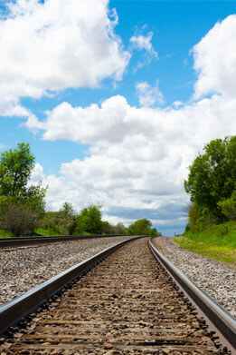 Railway Track HD image for designers and photo lovers on Pixel89