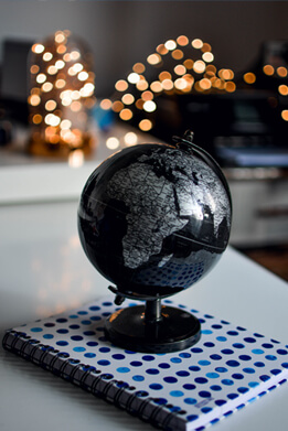 Black Globe HD image for designers and photo lovers on Pixel89